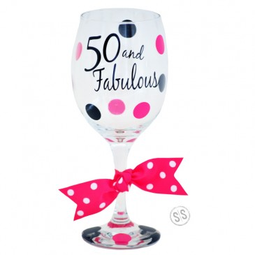 Wine Glass *Age and Fabulous*