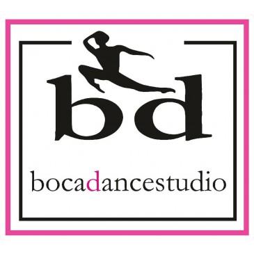 Boca Dance Car Sticker