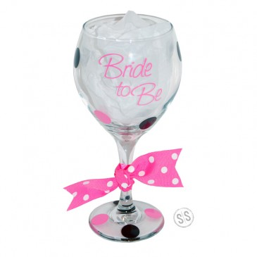 Wine Glass *Bride to Be*