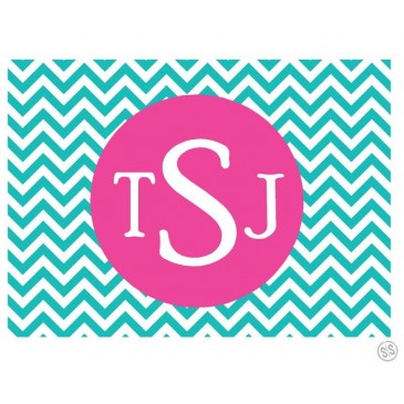 Gift Tag Labels *Chevron*