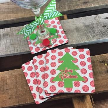 Coasters *Christmas Tree*
