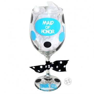 Wine Glass *Circle Bridal*