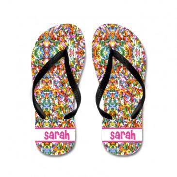*Sprinkles*  Flip Flops