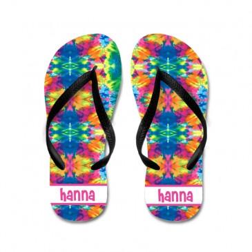 Flip Flops *Tye Dye*