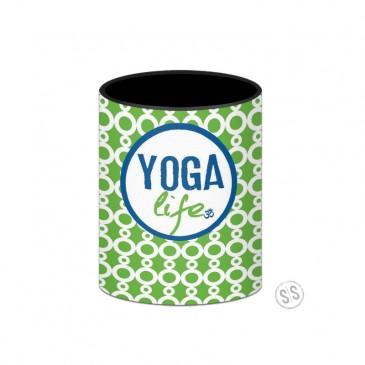 Yoga Life Koozie