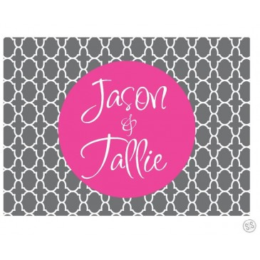 Gift Tag Labels *Moroccan*