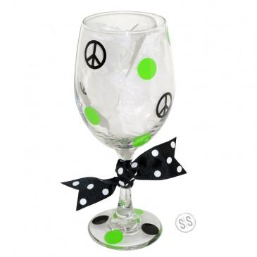 Wine Glass *Peace*