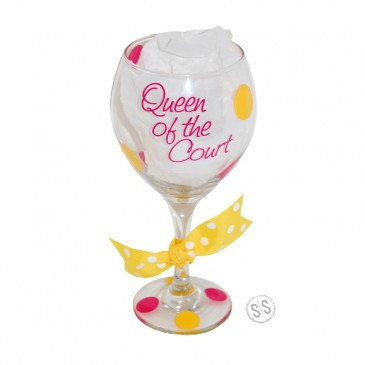 Wine Glass *Queen of the Court*