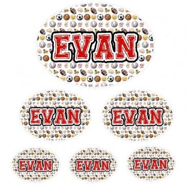 Sticker Set *Sports Emoji* ND