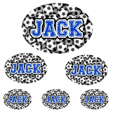 Sticker Set *Soccer Ball* ND
