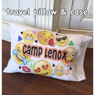 Emoji pillow personalized