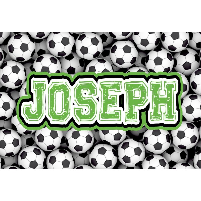 Soccer Pillowcase