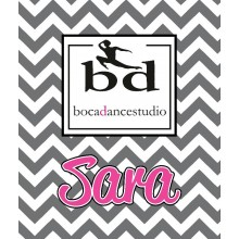 Boca Dance Logo Blanket
