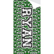 Camo Blanket Bag- ND