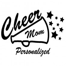 Cheer Mom Megaphone
