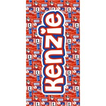 Cheer Red and Blue Towel-ND