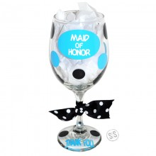 Wine Glass *Circle Bridal*