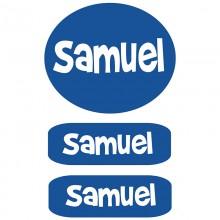 Peel & Stick Clothing Labels  *Blue*