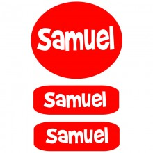 Peel & Stick Clothing Labels *Red*
