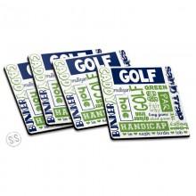 Coasters *Golf*