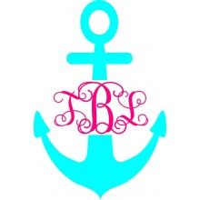Monogram *Anchor Interlocking*