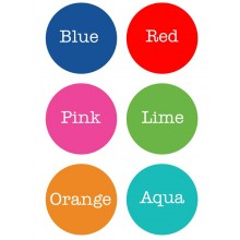 Peel & Stick Clothing Labels *Rectangle Pick Your Color*