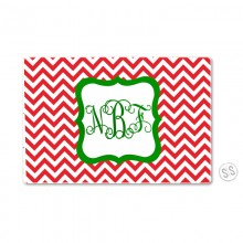 Cutting Board *Holiday Chevron*