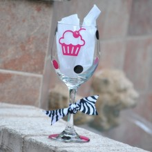 Wine Glass *Cupcake*