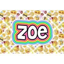 Pillowcase *Emoji Faces White* ND