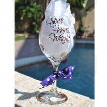 Wine Glass *Future Mrs.*