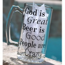 Beer Mug *God is Great*