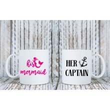 Mug *His Mermaid/Her Captain*