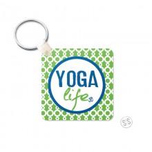 Yoga Life Keychain