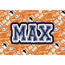 Pillowcase *Lacrosse Orange* ND