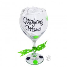 Wine Glass *Mahjong Mama*