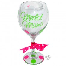 Wine Glass *Merlot Mama*