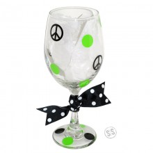 Wine Glass *Peace*