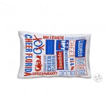 Cheer Florida Pillow