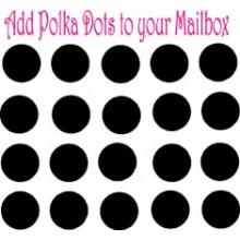Mailbox Polka Dots