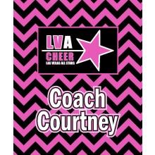 LV Allstars Chevron Logo Blanket