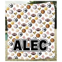Emoji Sports Blanket