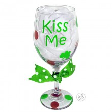 Wine Glass *Saint Patty's Day*