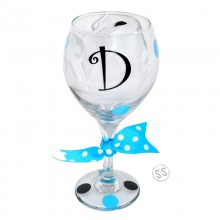 Wine Glass *Single Initial*
