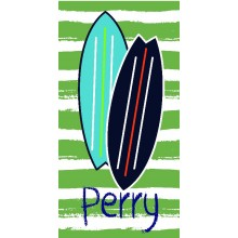 Surf Board  Beach Towel