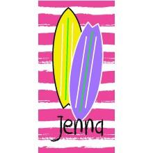 Surf Girl Pink Towel- ND
