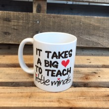 Mug *teacher little minds*