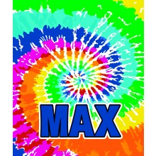 Tie Dye Primary Blanket- ND