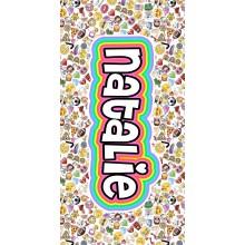 White Emoji Towel-ND