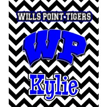 Wills Point Chevron Blanket