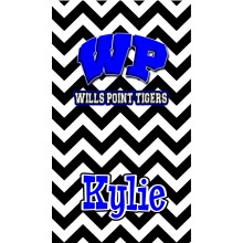 Wills Point Chevron Towel